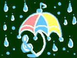 雨傘ダンス♪