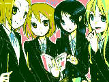 [2009-05-04 13:40:43] ヤスコさんリク*けいおん!の4人*身長差って何ですか^p^