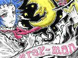 [2009-05-07 11:35:42] 黒黒板で描いてみました~!ロードと千年公!