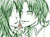 頬にキス【厚情】
