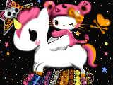 [2009-06-19 01:43:17 ☆tokidoki×Hello Kitty☆オレンジチョークつかってみた♪(*'ω'*)