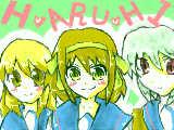涼宮ハルヒの憂鬱 3人組!