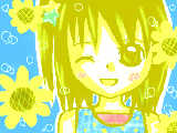 [2009-07-26 17:34:57] sumikaリク、夏っぽい子です!!ひまわりが変になっちゃった><!!ゴメンね!!sumikaリク、ありがとうございました!!!!まだまだリク募集中です♪