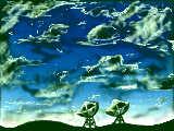 パラボナアンテナ(雲の練習)