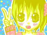"""[2009-09-19 16:24:23] らくがき☆""""やっぱ下手・・・・。。。キモい・・・・"""