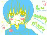 [2009-10-08 07:47:12] しぃ誕生日おめでとうっ!!