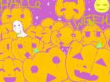 [2009-10-27 18:10:34] カボチャ祭り。←