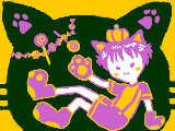[2009-10-31 23:55:33] ハロウィンのお菓子、僕にもちょーだいニャ☆