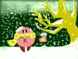 カービィ祭り参加! 「雪降る聖夜」