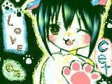 [2009-12-20 20:40:48] 猫ちゃんです^^にくきうが下手^p^/(塚すべて下手だよ。お前。)アイコン用だよ!!