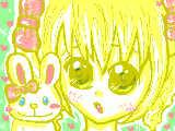 [2009-12-29 11:54:55] 永遠たんお待たせしましたよっ^^;「ロリータの子」描き直ししたけど・・やっぱり下手だね・・・><!!変なうさぎもいるし・・・・。リクありがとっ!!!!下手でごめんね。