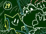 [2010-01-30 05:41:42] スターの。構図が意味不明になっても投稿できるのがこくばん