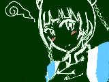 初描き 藍猫w