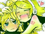 """[2010-02-28 21:11:05] ゆーりさんリクエストで""""リンレンがデートしてるところ""""です(*´∇`)"""