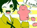 [2010-03-21 15:36:47] 【でぶ子様へ】親分ちゃうで!トマトやで!