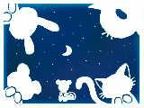 初めて自分の力で「青」作ったぁ~♪なんの動物か分かる?右上は自分でも分からんww