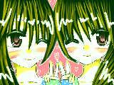 [2010-05-03 18:14:56] かりんリク、双子のおにゃのこ(*´ω`*)双子に見えないのはスルーでww
