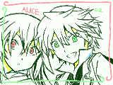 chika☆さんリクの「アリスとオズ」です!