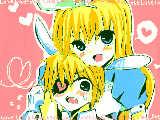 [2010-07-02 18:38:17] アリスがウサギさんをつかまえたようですw←