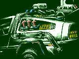 BTTF DMC-12 De Lorean/時間旅行の実験車両