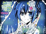 [2010-08-31 03:09:05 +*ミク誕生日おめでとう!*+