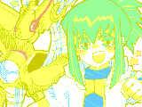 [2011-02-01 19:27:28] 地球の平和を守るため、勇気と力をドッキング!シンクロ召喚っ!