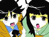 [2011-02-10 17:56:09 ファイヤーシスターズ  模写って難しい・・・orz