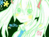 [2011-02-19 10:57:31] 初描きミクちゃん