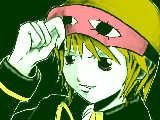 沖田さんとアイマスク。