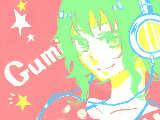 [2011-04-03 23:54:02] GUMIよ!!こくばんは、なれないなぁ・・・。こくばんでちゃんとしたの描いたの初めてじゃね?
