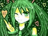 緑ミクっ!!!