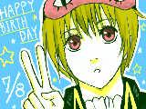 沖田誕生日おめでと! 遅れてごめん!! でも祝えてよかっt((殴