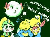 [2012-01-11 22:35:16] マリオストーリー×ペーパーマリオRPG