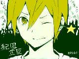 [2012-03-09 12:47:29] 友達が紀田くん1番好きって言ってたので。らくがきだまさおみ