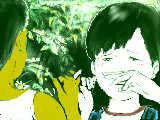 『虹色ほたる』 ケンゾーと吉澤さん