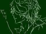 【手描きib】た.っ.た.一.つ.の.想.い【みんなで脱出】のギャリの横顔模写してみた
