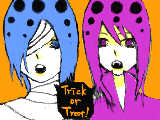 [2012-10-14 02:45:43] 「「Trick or Treat!」」