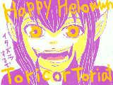 今日ハロウィンじゃん つづりあってる?