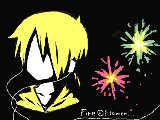 [2012-12-15 09:15:19 Fire◎Flower(黒黒板の無駄遣い←)