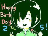[2013-03-31 17:08:06] ちっぷさん遅れましたがお誕生日おめでとうございます!!ちっぷさんに祝福を!