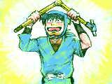 [2013-04-26 14:04:10] でっかいコンパスにときめく土井先生