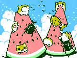 [2013-07-15 13:59:48] スイカ切ったよ~!!