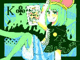 【こくばん.in】クローバー・K【トランプ企画】