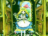 アリスは不思議な世界を楽しんだ後、魔法の鍵で帰ってきました。「ただいま!(・・・なんか、ついてきちゃった)」{おしまい}一つ前→kd1401195284