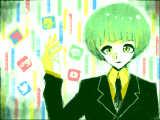 私のスマホ君は緑色です。