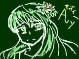 【落書き祭り初見参加】憂鬱の花姫アヴィー