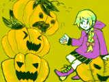 [2014-10-12 19:57:01] かぼちゃトーテムポール