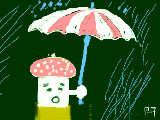 傘は大きいほうがよい