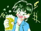 ビールで乾杯!!