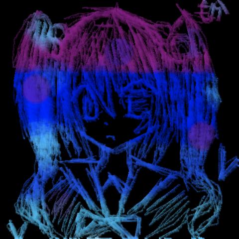 青色ちゃん。